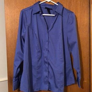 Lane Bryant, size 18, button-up shirt.